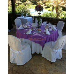 Cubremantel para mesa redonda 150 cm