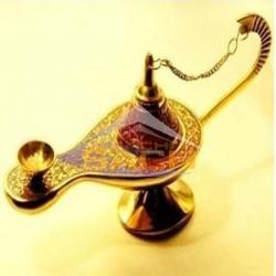 Lampara de Aladin de bronce