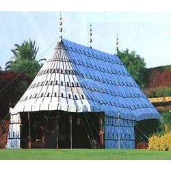 Square Arab tent