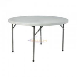 Mesa plegable redonda 120cm