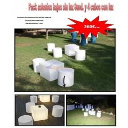 Alquiler mobiliario con luz