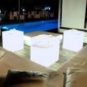 Cubo con luz led