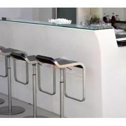 Mostrador de cristal para barra recta  Jumbo Bar