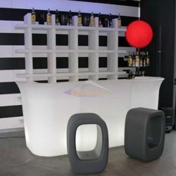 Barra bar recto con luz,  Jumbo Bar