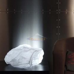 Illuminated stone