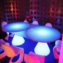 Mesa redonda con luz, Ed II