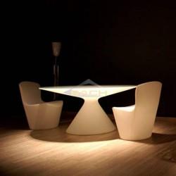 Illuminated armchair, Zoe