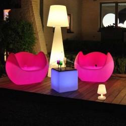 Illuminated armchair, Blos