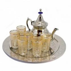 Juego de té Árabe marroquí completo