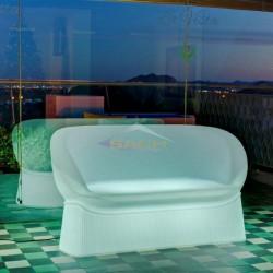 Sofá con luz, Menorca
