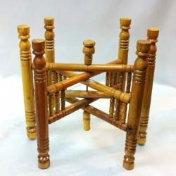 Estructura plegable para mesa de té marroquí