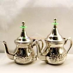 Tetera marroquí de acero