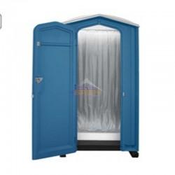 Cabine de duche móvel com água quente