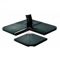 Base para parasol de pie lateral