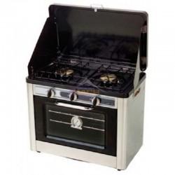 Horno con cocina portátil