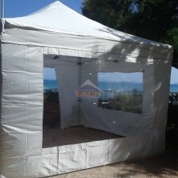 Pared carpa con ventana