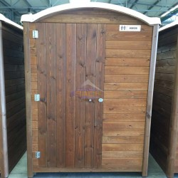 WC portátil de madeira
