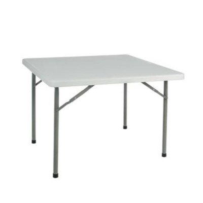 Mesa plegable cuadrada de 90x90cm